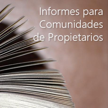 Informes para Comunidades de Propietarios