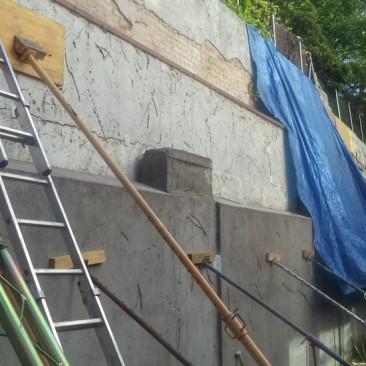 Informe sobre el muro medianero en la Calle Manuel Uribe | Madrid
