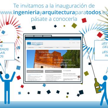 Inauguración de la página web